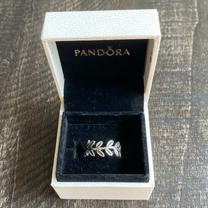 Pandora Ring Laurel Wreath Sterling Silver